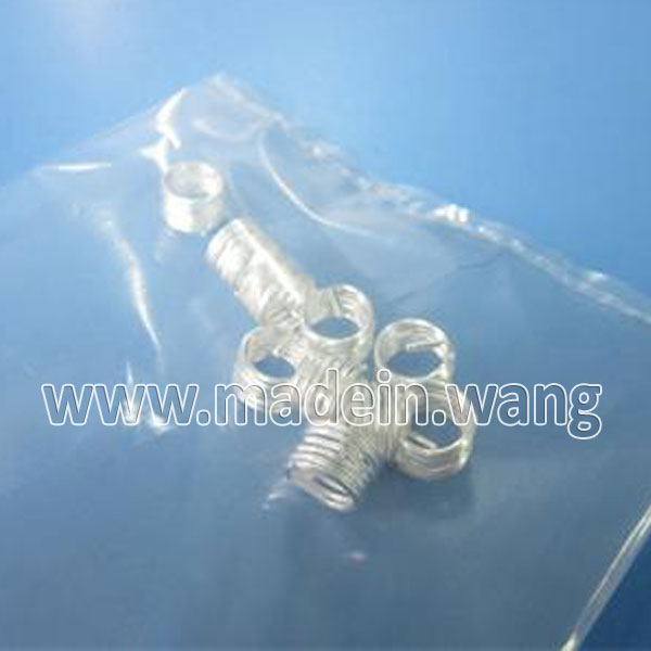 镀银型钢丝螺套,高温紧固件